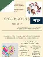 Presentación Educación Emocional de Lourdes Bejarano