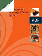 Underground Drainage & Sewer System