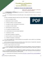 LC - 105-2001 - Sigilo de Operações de Instituicoes Financeiras
