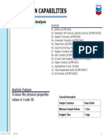 OA01-Crude Oil Analysis