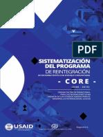Sistematización programa CORE