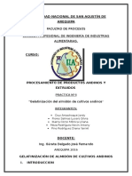 Practica 4 Estruidos Gelatinizacion de Almidon de Cultivos Andinos
