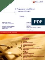 1- S Fundamentos, Grupos de Procesos y Areas Del Conocimiento PMI