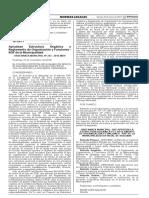 Aprueban Estructura Orgánica y Reglamento de Organización y Funciones - ROF de la Municipalidad