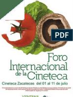 30 Foro Internacional de La Cineteca Nacional
