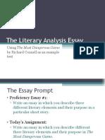 the literary analysis essay  2