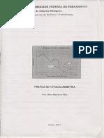 Apostila de Fotocolorimetria.pdf