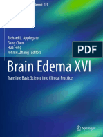 Brain Edema XVI -Translate Basic Science Into Clinical Practice by Richard L Applegate,Gang Chen,Hua Feng,John H. Zhang