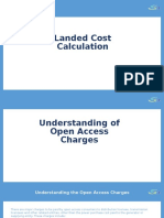 Landed Cost Calculation