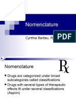 Nomenclature and Sources of Drugs