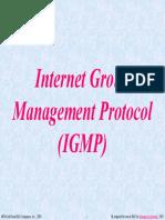 Lecture 10- IGMP
