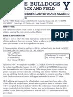 Yale Interscholastic Track Classic