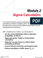 GE Sigma Calculation Basics 12