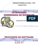 (SLIDE) Processos de Software