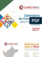 Calendario 2017 Conectamef