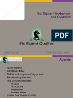 Six Sigma Introduction and Overview