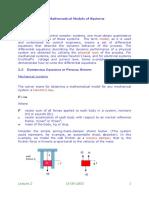 Mathetical model