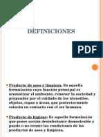 CAPACITACION DEFINICIONES