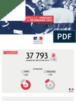 Chiffres de la délinquance en Ille-et-Vilaine en 2017