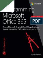 Programming Microsoft Office 365 - Paolo Pialorsi