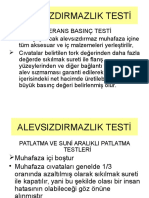 ALSz PATLATMA TESTİ