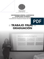 Folleto Trabajo Final Graduacion UNED