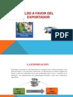 Saldo a Favor de Exportaciones