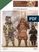 070 Guerreros Medievales Los Ninjas Japoneses Osprey Del Prado 2007.pdf