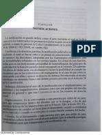 Notificaciones en El Proceso Laboral-teorico practico