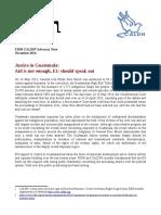 2014.11.24 FIDH-CALDH Advocacy Note Guatemala