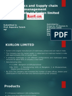 Group No.10_Section A_Kurlon Case