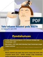 Anaesthesia for ECT 1