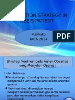 Ventilation Strategy in Obeis Patient Iaca