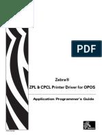 Zebra OPOS ZPL & CPCL Programmers Guide