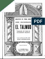 Iser Guinzburg, El Talmud (Cap. IV - Los Metodos Para La Investigación de La Torá)