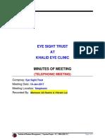 MoM 2 - Khalid Eye Clinic by Mansoor Ali Seelro