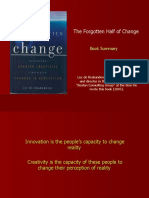 The Forgotten Half of Change - Summary