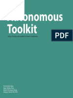 Autonomous Toolkit - Design Thinking Made Available for Creative Collaborations - Fee Schmidt-Soltau