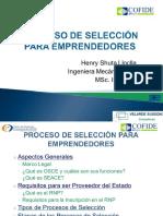 Procesos de Seleccion Para Emprendedores