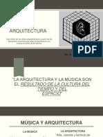 Música y Arquitectura