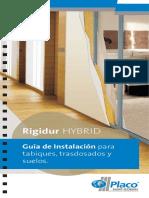 Guía de Instalación Para Tabiques, Trasdosados y Suelos - Rigidur