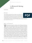 Archivistics Research Saving the Profession