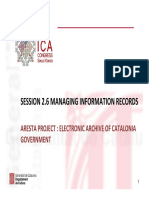 MANAGING INFORMATION RECORDS