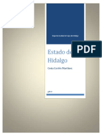 Reporte de Viaje Hidalgo