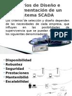 criterios de diseño e implementación de un sistema SCADA