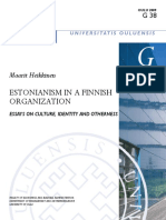 Estonianism in a Finnish Organization