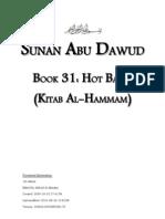Sunan Abu Dawud - Book 31 - Hot Baths (Kitab Hammam