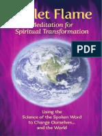 Violet Flame Meditation Brochure 2016