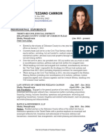 Christine Fizzano Cannon Resume