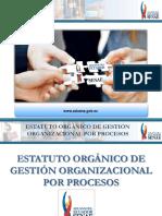 Estructura Organica de Las Aduanas Del Ecuador